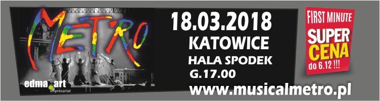 Musical METRO w Katowicach